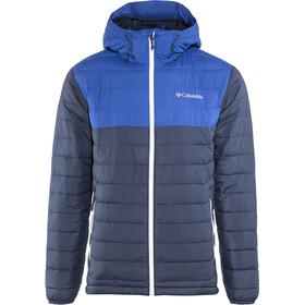 Columbia Powder Lite Hooded Jacket Men Collegiate Navy/Azul